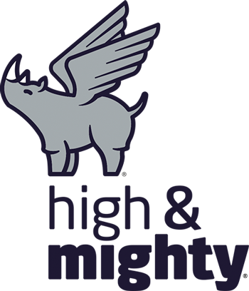 High and Mighty color logo cropped